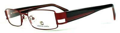 2019 Mode Brille Collection Creativ Brillengestell Mod 1277 Col 940 Rot/schwarz Weitere Rabatte üBerraschungen
