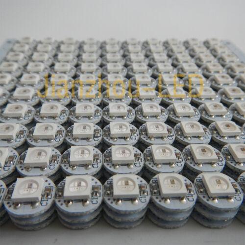 DC 5V SMD 5050 Led light 10mm * 3mm NEW 50PCS RGB 1-LED PCB Board WS2812B IC