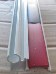 "56/"" White Aluminum Off Set T Molding Slide Out Box Trim 6/"" x 1 5//8/"" RV-163"