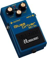 Boss Bd-2w Blues Driver Waza Effects Pedal Bd2w 3a