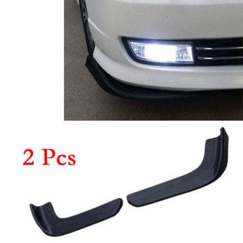 2PCS Auto Front Shovel Car SUV Racing Bumper Splitter Spoiler Protector Economic