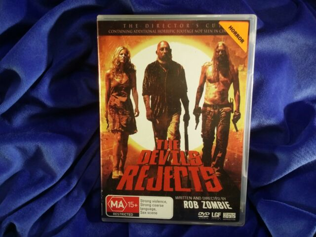 The Devils Rejects - Rob Zombie - DVD - REGION 4 - RARE OOP HORROR_LIKE NEW
