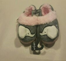Free Ship Wonder Nation Toddler Unisex Elephant Aline Slipper 11//12