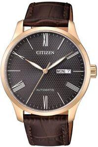 Citizen-Luxury-Mechanical-Automatic-Elegant-Men-039-s-Watch-NH8353-00H
