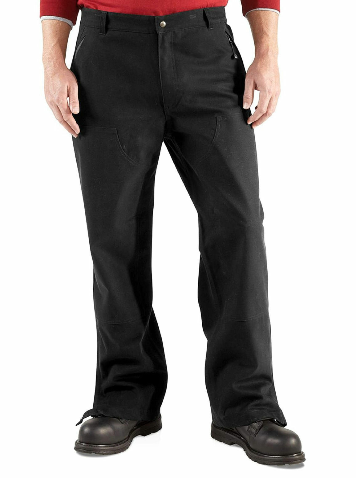 Carhartt Mens Astoria WP Waterproof Pants canvas work trousers 100119 S-XXL NEW