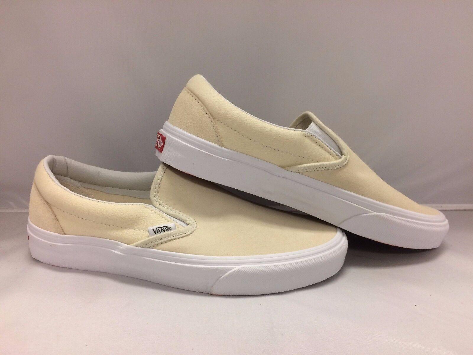 Vans Men's shoes Classic Slip-On -- (Suede  Canvas)--Aftrglwtrwt