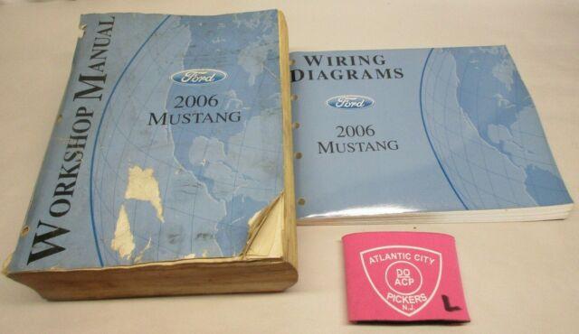 2006 Ford Mustang Service Shop Repair Manual  U0026 Wiring