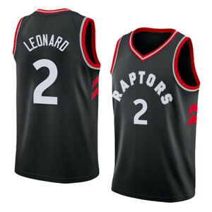 online store 7cf7b a9bf6 Details about NORTH Toronto Stitched Basketball Wear #2 Kawhi Leonard  Raptors Jersey Full Size