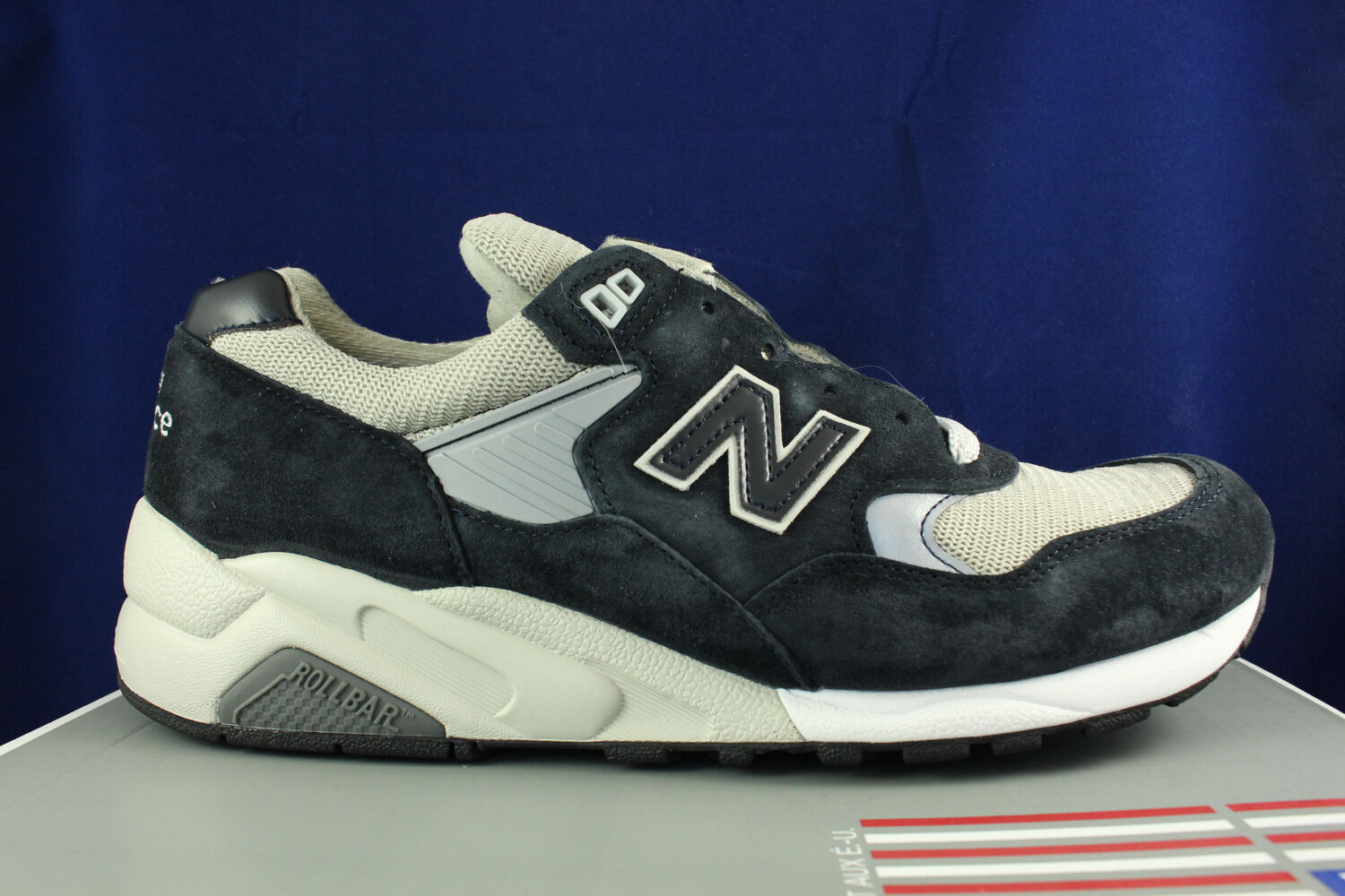 NEW BALANCE 585 BRINGBACK MADE IN USA NAVY grau Blau M585BG SZ 8