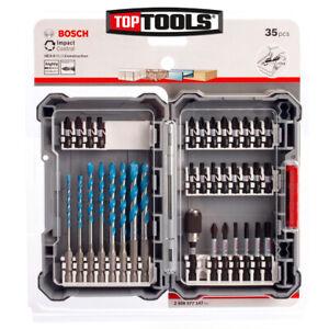 Bosch 2608577147 35Pc Impact Control Multi Construction Drill Bit Set in Case