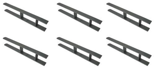 9X H-Anker 10,1cm Pfostenträger H-Träger Carport Pfostenanker verzinkt 60X5xcm