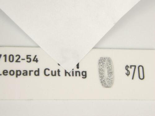 Jennifer Lopez ENDLESS Sterling Silver LEOPARD CUT Solid 925 Ring 7102