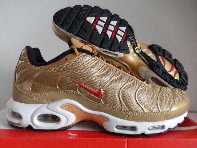 f316df43847b0 DS 2017 Nike Air Max Plus QS Metallic Gold 903827-700 Various Sizes ...
