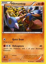 4X Pokemon Furious Fists Hitmontop 49/111 Uncommon Card