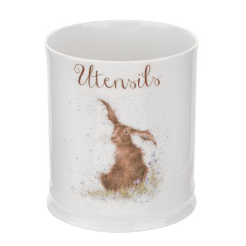 Wrendale By Royal Worcester Utensils Jar Hare