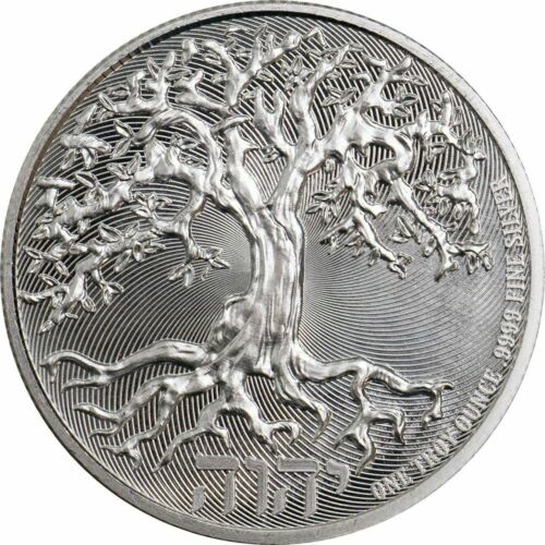 2019 Niue Truth Coin Series The Tree Of Life 1 oz Silver Round Limited BU Coin