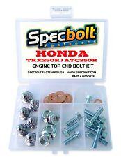 HONDA TRX250R FOURTRAX & ATC250R ENGINE BOLT KIT TOP END Cylinder Head Intake