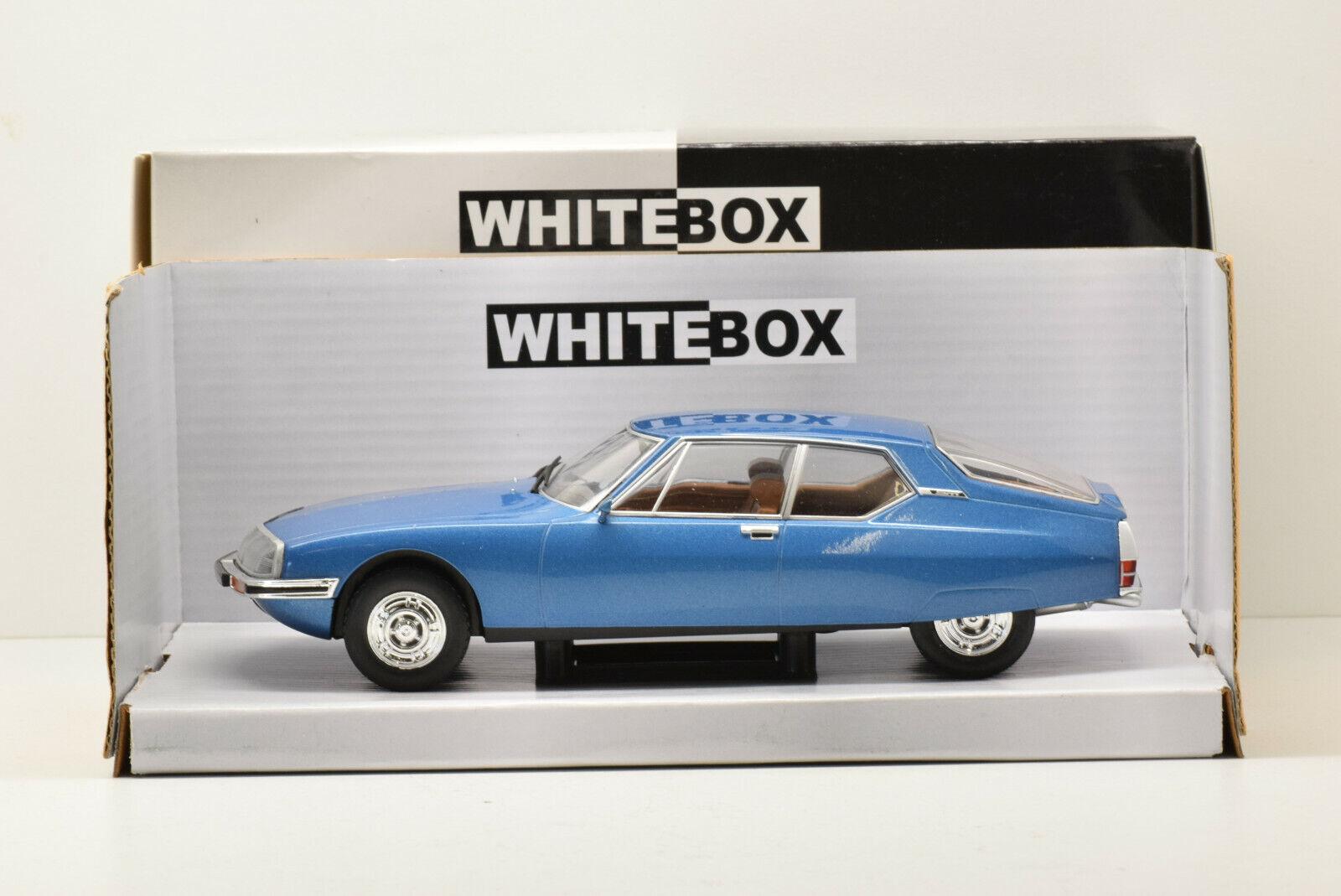 CITROEN SM 1970 blå vitlåda 1  24 NEUVE EN BOITE