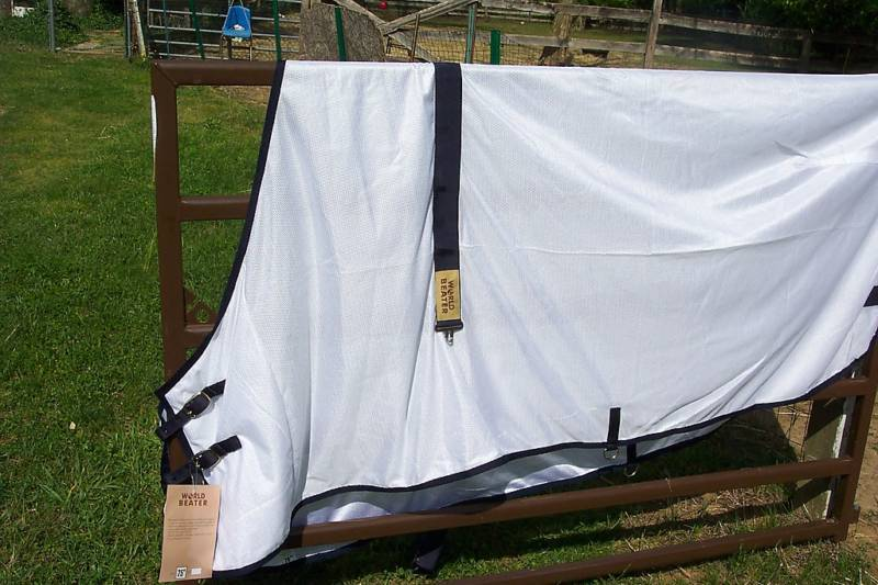 WORLD BEATER HORSE SOFT MESH SCRIM FLY SHEET  SIZE 66 NEW