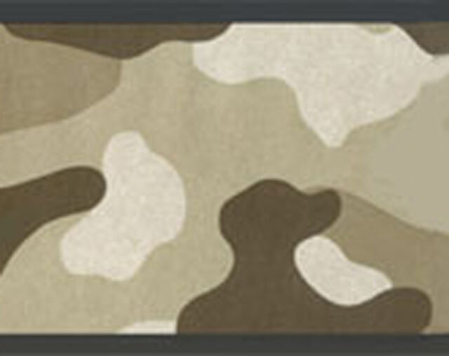 Camouflage Camo Military Army Marines Wallpaper Border Desert For