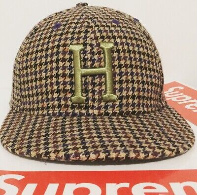 "Men/'s 5950 Fitted Cap HUF /""Classic H All Star/"" New Era Fitted Hat Insignia BL"