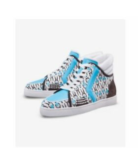 7efac017e327 Rare! Christian Louboutin X Sporty Henri SH ONE FLAT Sneaker SZ EU42 ...