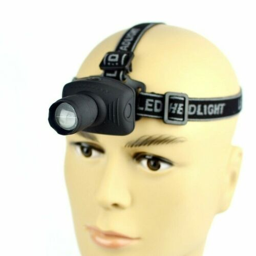 2000 Lumens LED Headlight Headlamp Flashlight Lantern Zoomable Head Torch Light