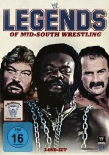 1 von 1 - LEGENDS OF MID-SOUTH WRESTLING TED/ANDRE THE GIANT/FLAIR... -  3 DVD NEU