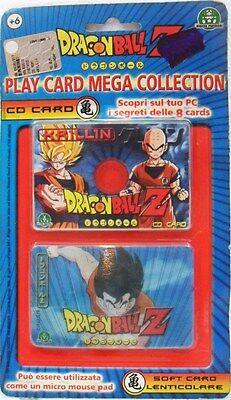 Dragon Ball Z KRILLIN Play Card Mega collection Cd Card