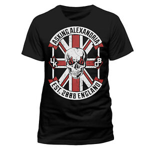 OFFICIAL-Asking-Alexandria-Rebel-T-shirt-Est-2008-England-New-S-M-L