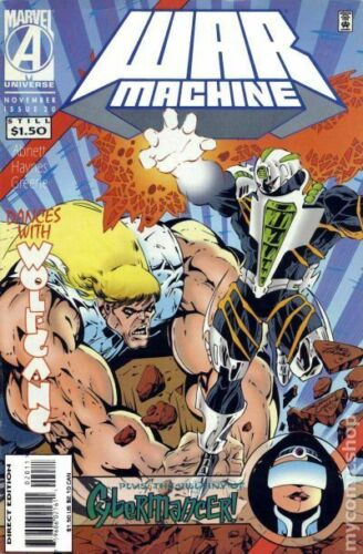 War Machine #20 VF 1995 Stock Image