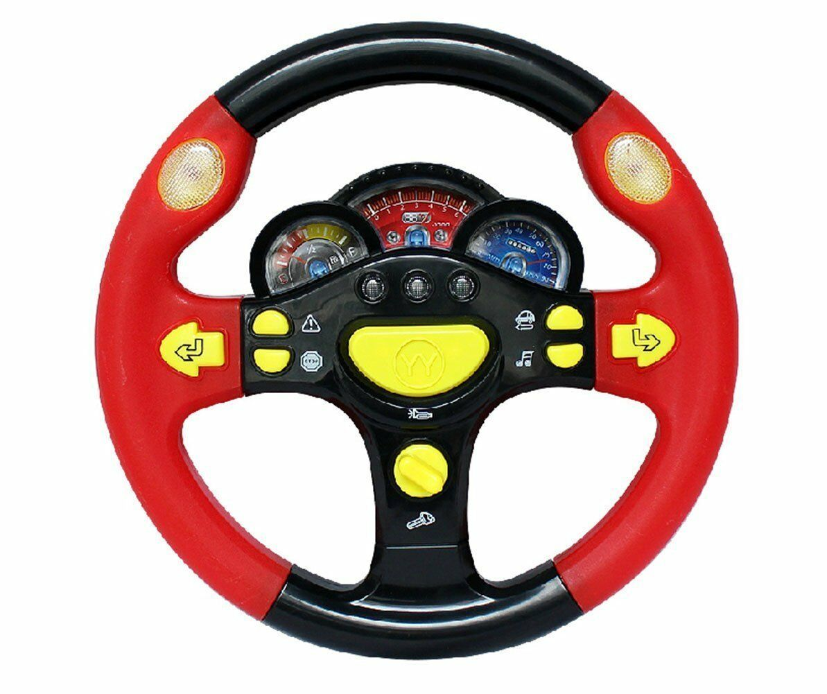 Steering Wheel Game Toy Infant Pretend Baby Children Kid