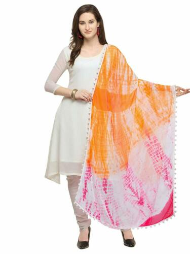 Women/'S Printed Chiffon Dupatta Indian New Stole Wrap Scarf Shawl