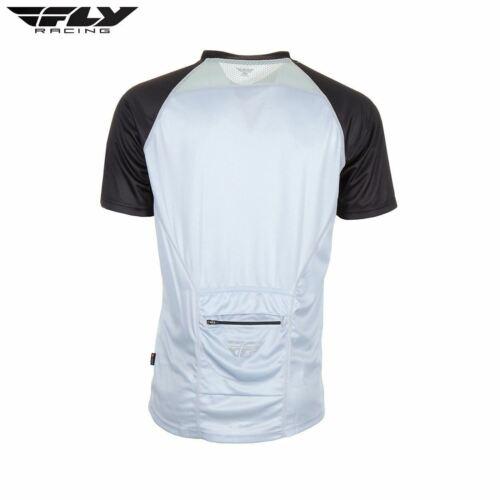 Grey//Red//Black Fly Bike Action Elite MTB Adult Jersey