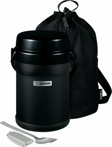Zojirushi SL-JBE14BZ Mr. Bento Stainless Lunch Jar, 41 Oz, Carbon Black