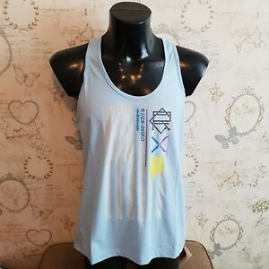Reebok-Crossfit-tank-vest-blue-womens-ladys-size-xl-20-22-uk-gym-fitness-running