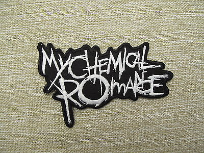 My Chemical Romance CO Iron On Sew On Embroidered Patch Emo Goth Punk Rock