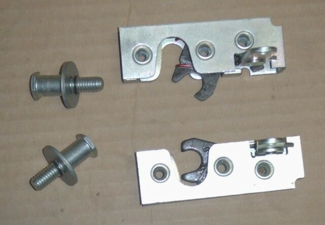 Street Race Hot Rod Door Latches With Striker Bolts - USA Made Small