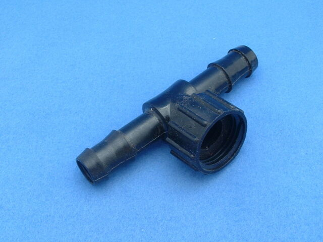 """bag of 1 ½/"""" Compression x ¾/"""" FHT Drip Irrigation Poly Hose Swivel Tee"""
