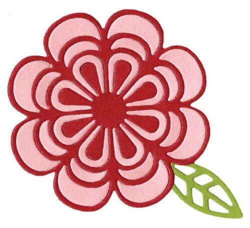 """Quickutz//Lifestyle Crafts DR-0314  /""""Flower/"""" 1  4x4 Cutting Die  NEW Shape 3x3/"""""""