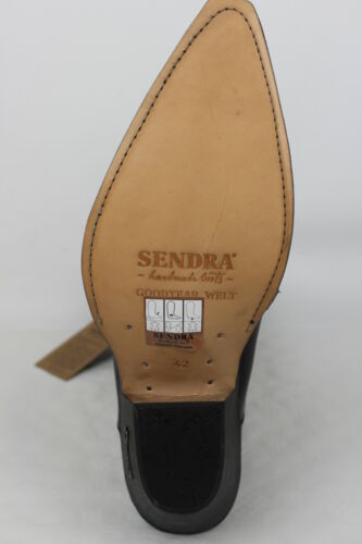 4133 Noir Bottes Western Cowboy Bottes Bottes Sendra Bottes q7wOHU