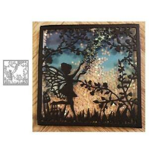 metal-cutting-dies-cut-die-mold-Fairy-elf-jungle-Scrapbook-paper-mould-stencils
