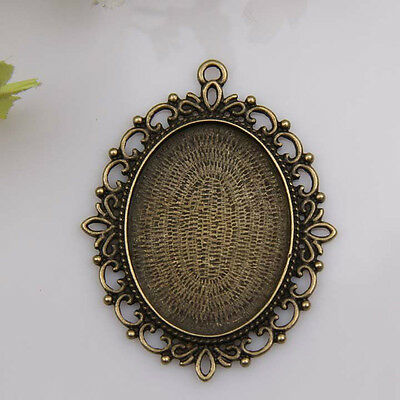 1pcs bronze plated big Picture frame pendants 1A1197
