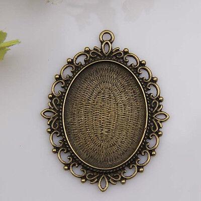 1pcs bronze plated big Picture frame pendants 1A1197