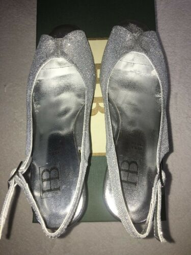 Sandal 75 Toe 5 Chaussures Femmes £ Argent Eur Rrp 38 Italien Hb Party Wedge Uk Peep PfHZ4nnx