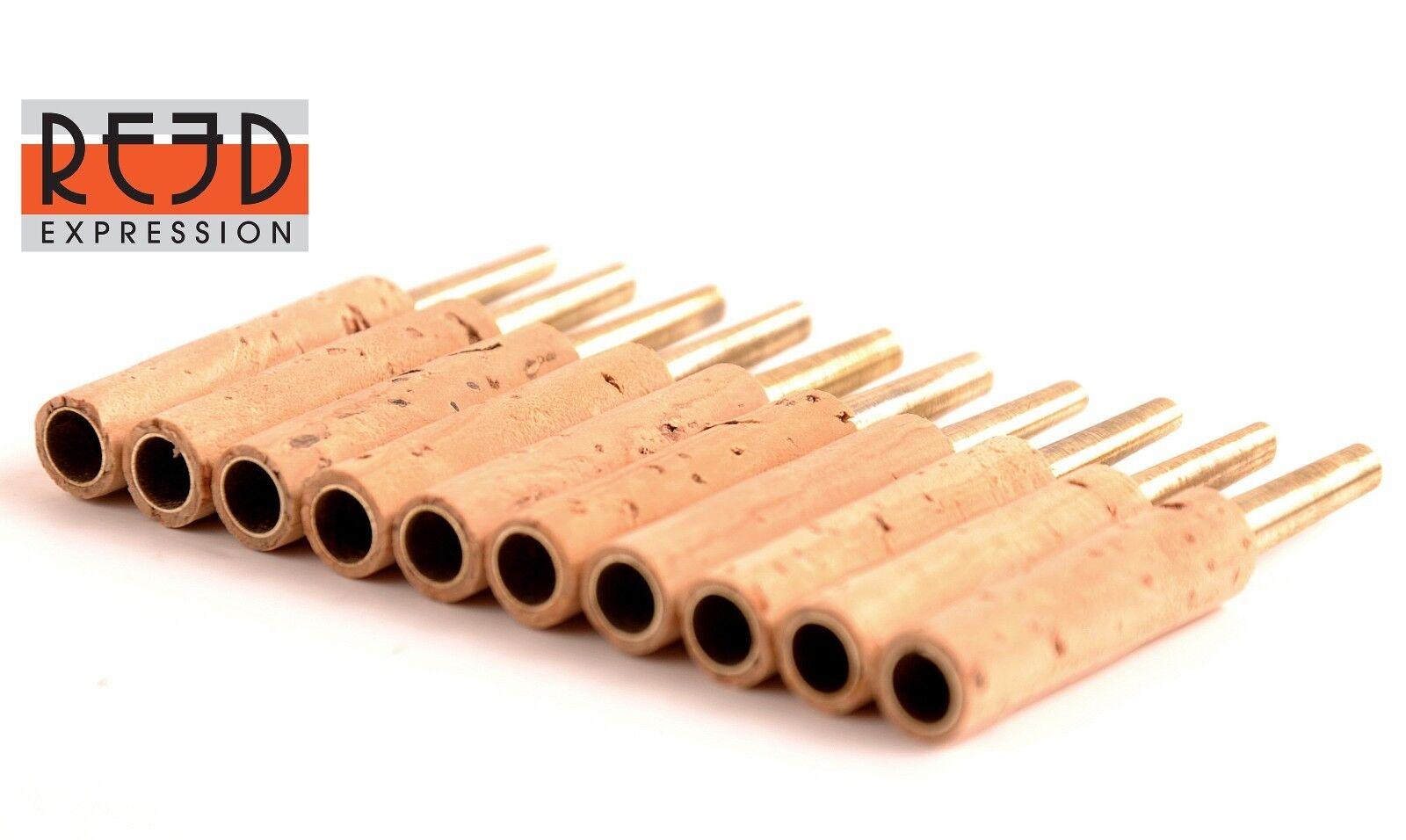 20 piezas oboe reed Grapas Grapas Grapas tubos 47 Mm-Reed expresión 4b2701