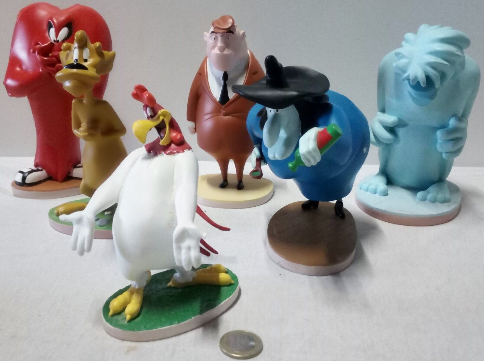 COLLECTION LOONEY TOONS- FIGURINES RESINE RESINE RESINE GRANDS PERSONNAGES 61385b