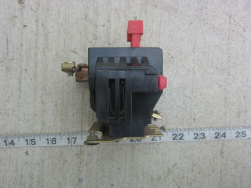 Used Square D 9065 SEO-6B  3A 600V Overload Relay