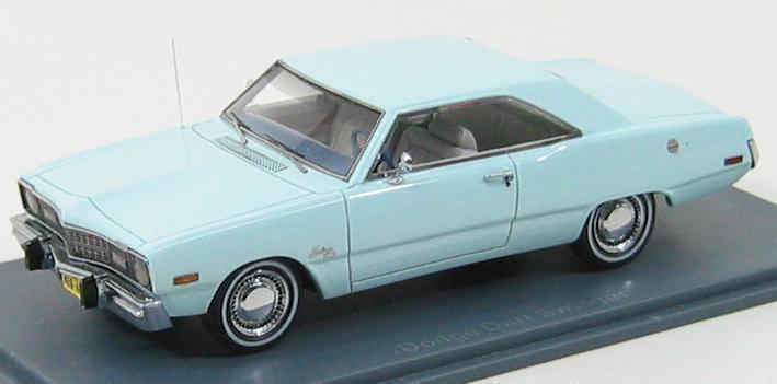 Dodge Dart libertin 1973 bleu clair NEO44405 1 43