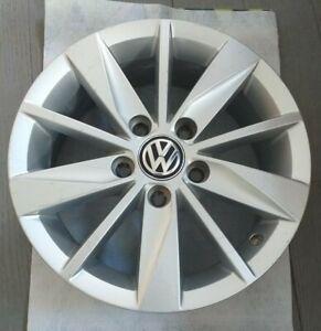 "2014 2016 VW Volkswagen Golf Mk7 Lyon Genuine 15"" Alloy Wheel Caddy 5G0601025H"